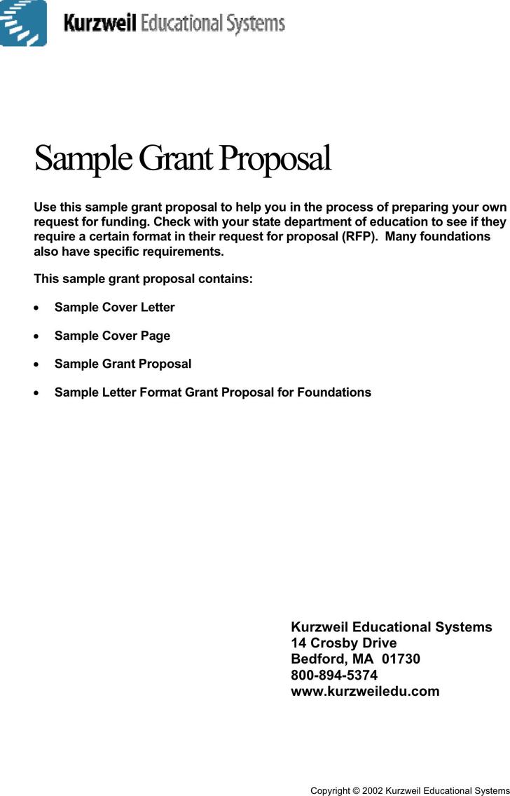 free sample grant proposal pdf 334kb 9 page s. Black Bedroom Furniture Sets. Home Design Ideas