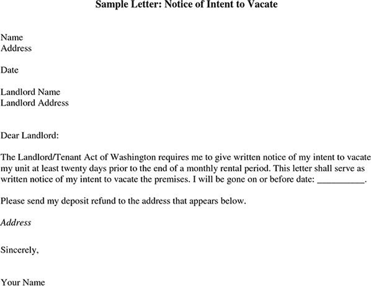 Letter To Evict Tenant Sample from www.speedytemplate.com