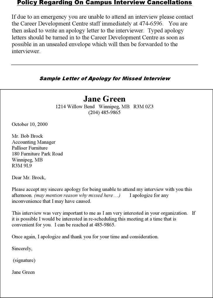 Free sample letter of apology for missed interview pdf 43kb 1 sample letter of apology for missed interview 1 spiritdancerdesigns Image collections