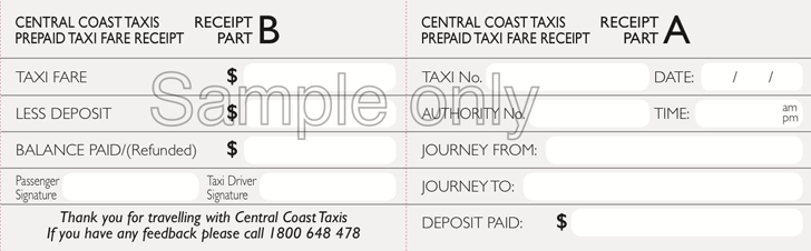 Taxi Receipt Template Template Free Download Speedy Template