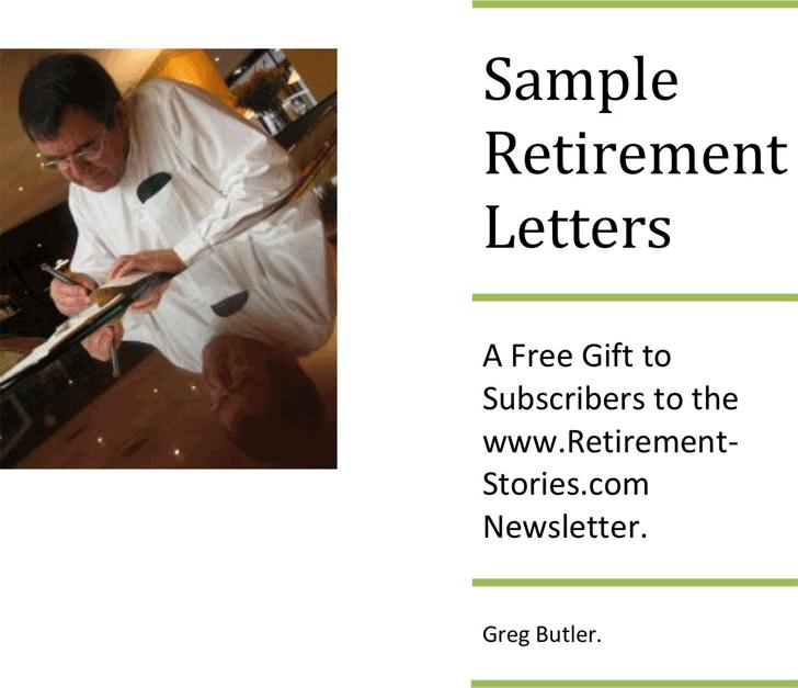retirement letters