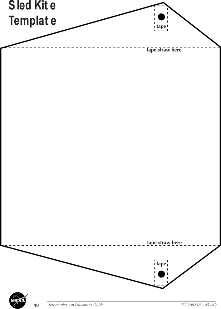It's just a photo of Kite Template Printable with regard to kid