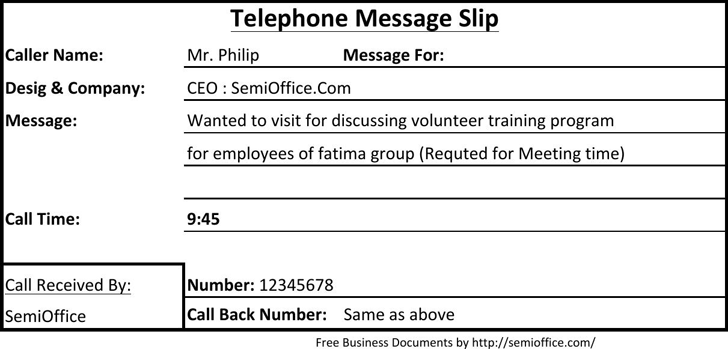 Phone message template template free download speedy template telephone message slip sample maxwellsz