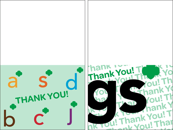 Thank You Card Templates Free Download] Thank You Card Template ...