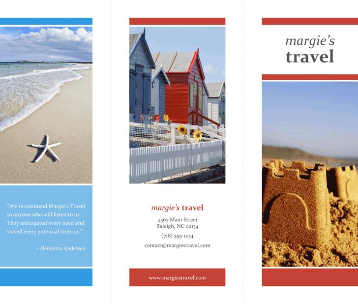 Travel Brochure Template Free Download Speedy Template
