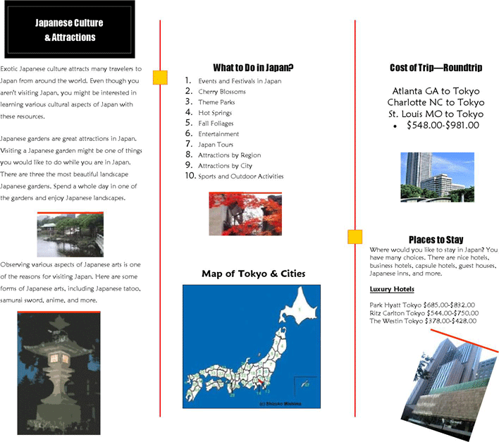 Free Travel Brochure Example Pdf 668kb 2 Pages Page 2