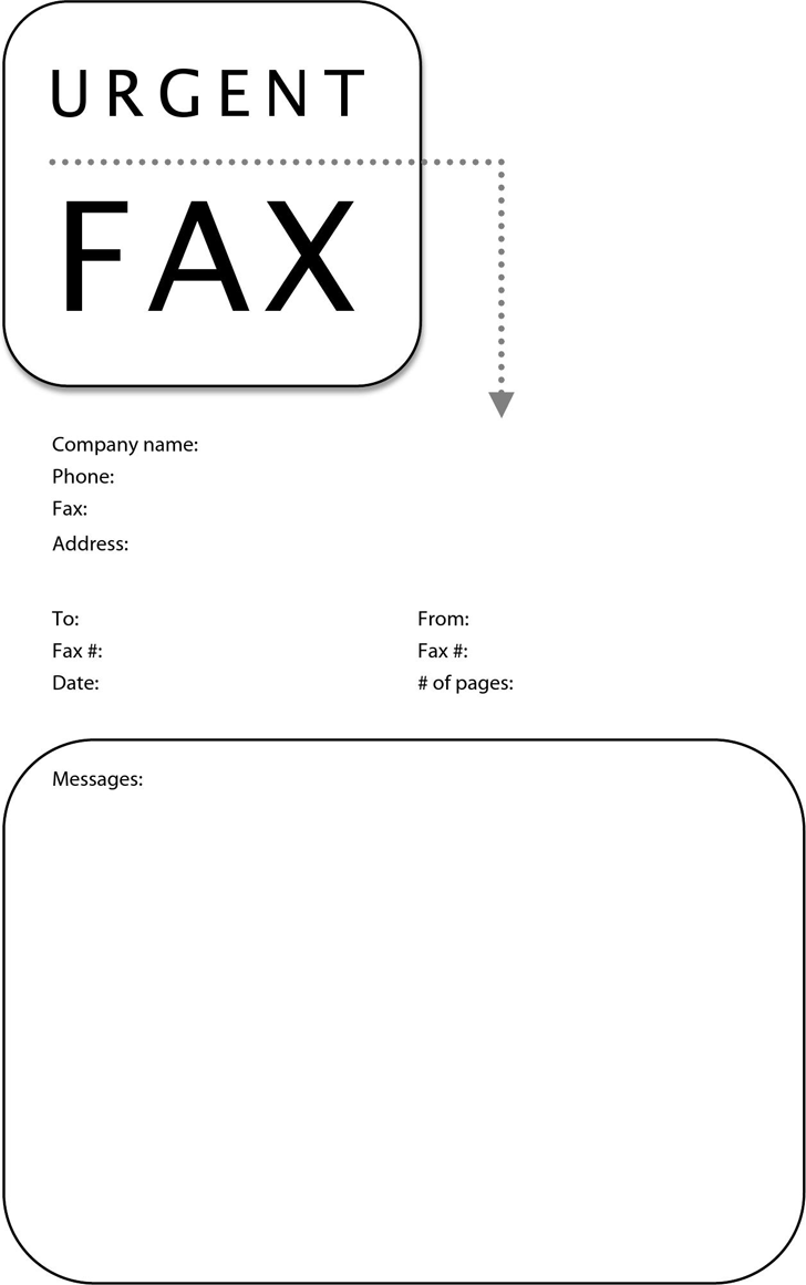 confidential fax cover sheets