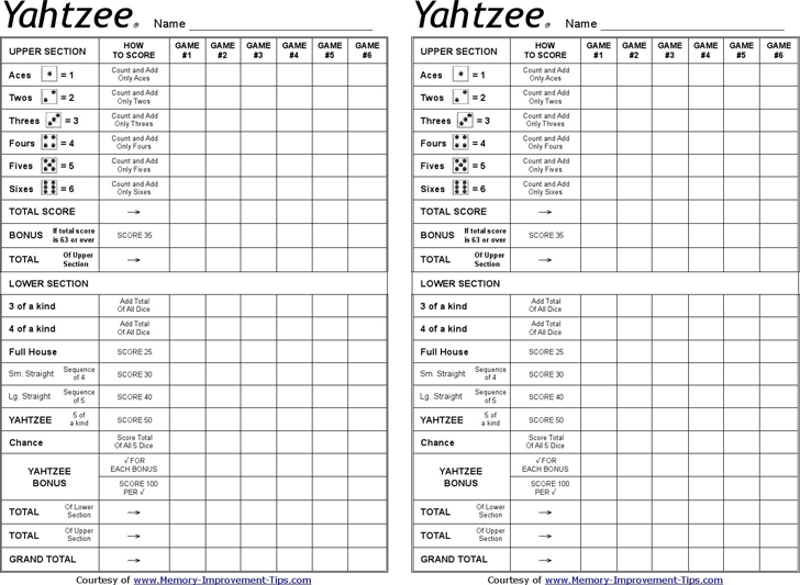 photo relating to Yahtzee Score Sheet Printable known as Totally free Yahtzee Ranking Sheets - PDF 82KB 1 Website page(s)