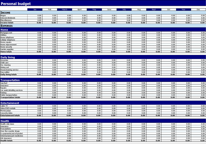 budget calculators free